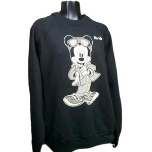 WALT DISNEY Mickey Mouse Florida Sweatshirt VTG